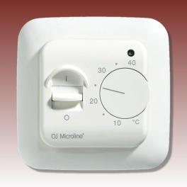 Vloerverwarmings thermostaat aan / uit OTN